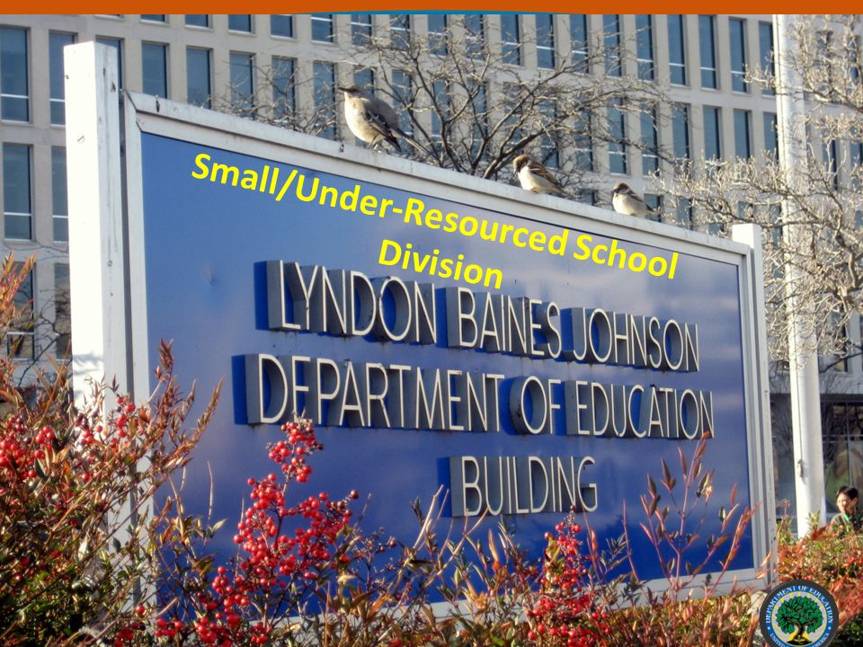 Small/Under-Resourced School Division