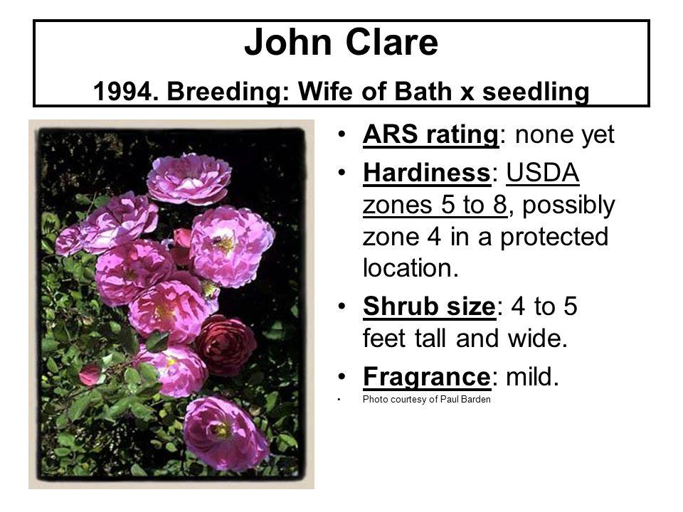 John Clare 1994.