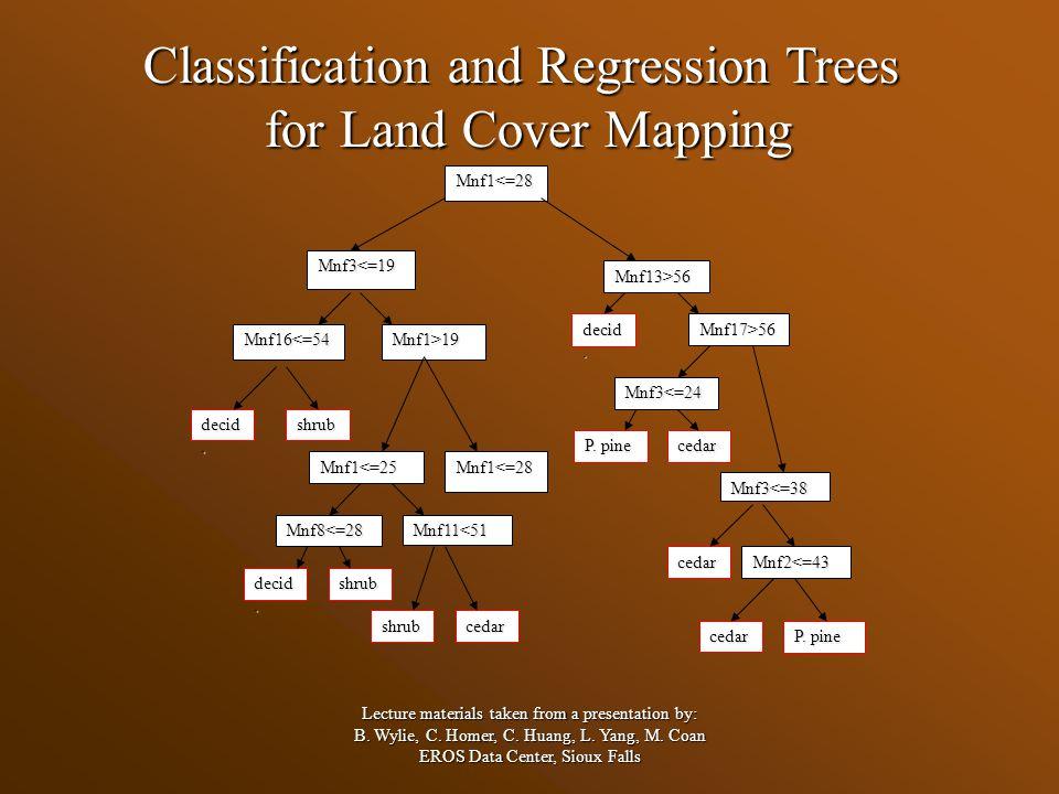 Descriptive or Prediction decision trees.