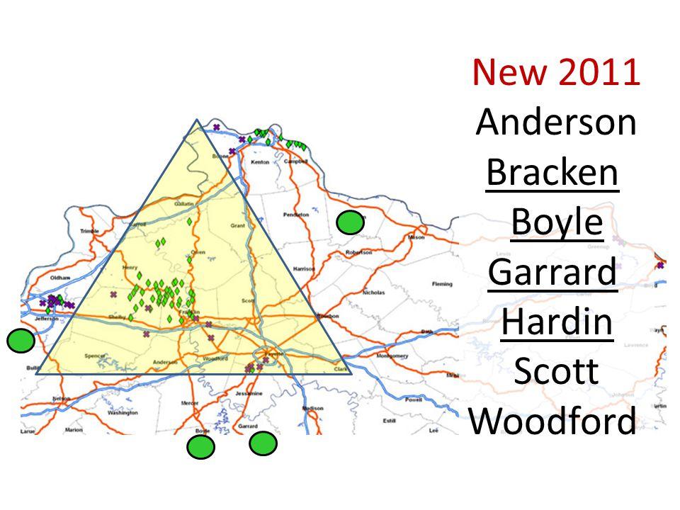 New 2011 Anderson Bracken Boyle Garrard Hardin Scott Woodford