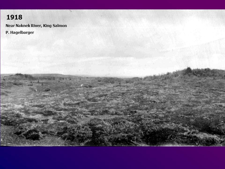 1918 Near Naknek River, King Salmon P. Hagelbarger