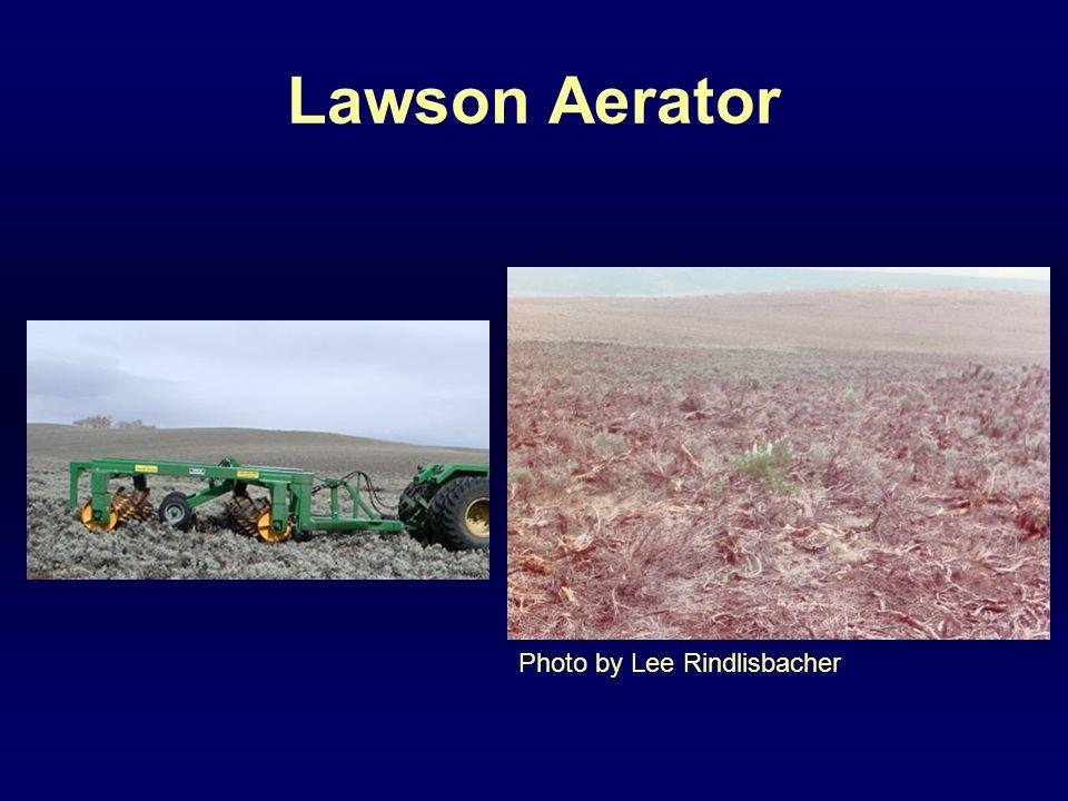 Lawson Aerator Photo by Lee Rindlisbacher