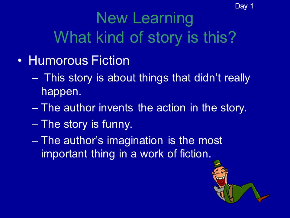 New Learning What kind of story is this.