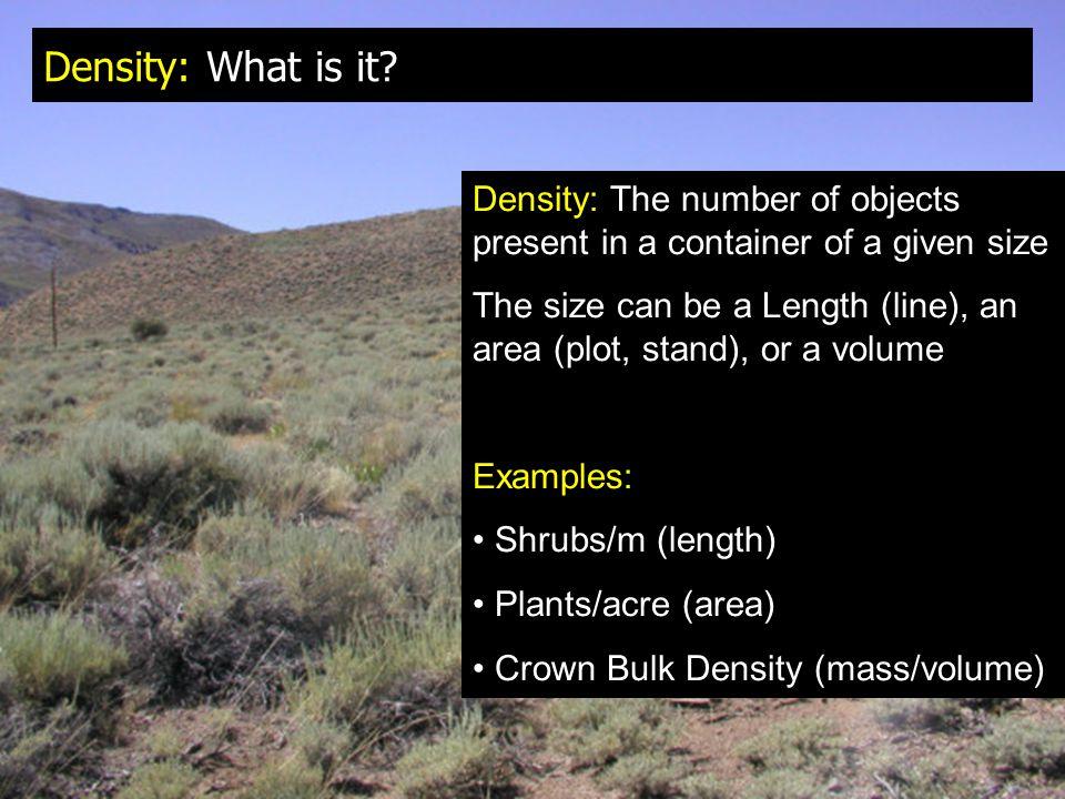 Density: What is it.