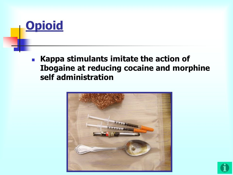 Opioid Kappa stimulants imitate the action of Ibogaine at reducing cocaine and morphine self administration