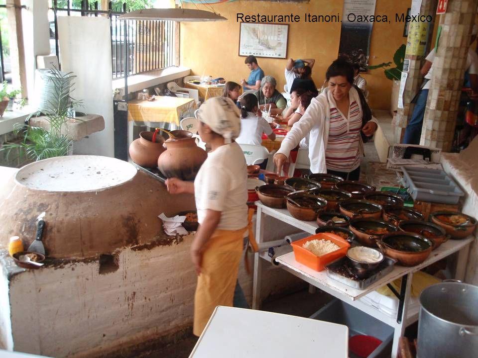 Restaurante Itanoni. Oaxaca, Mexico.