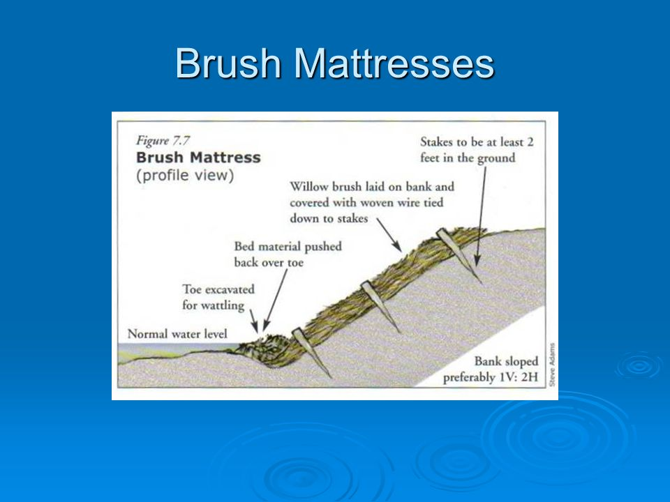 Brush Mattresses