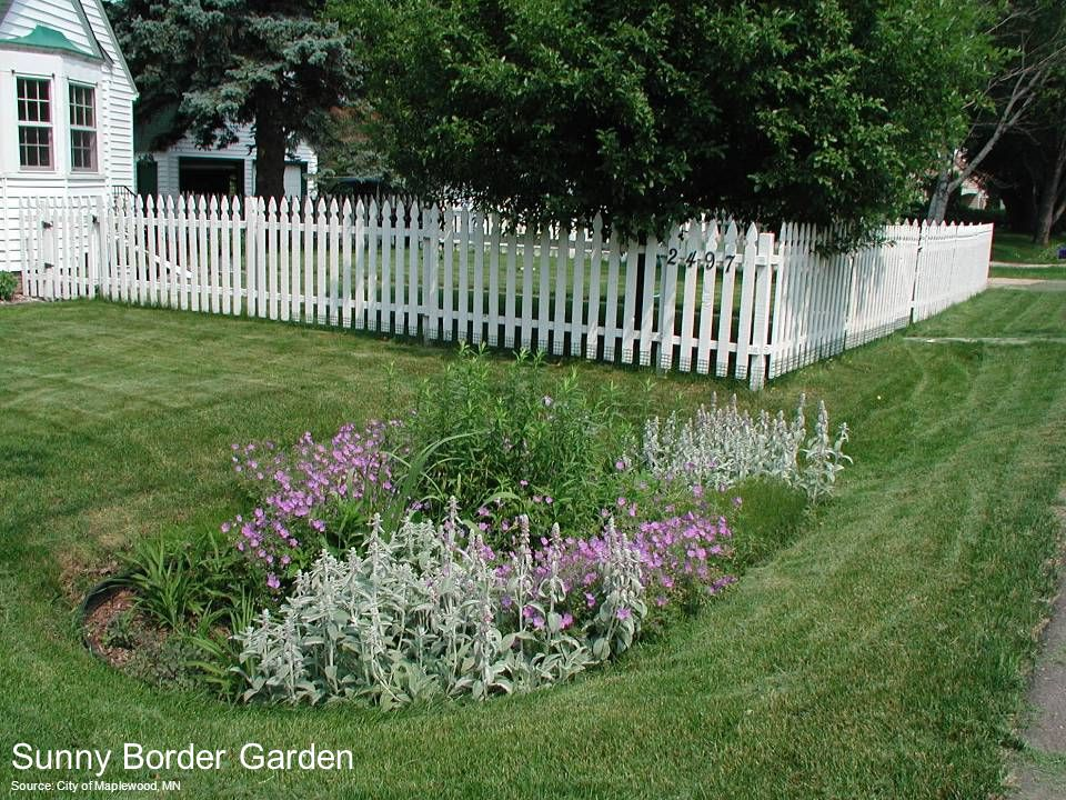Source: City of Maplewood, MN Sunny Border Garden
