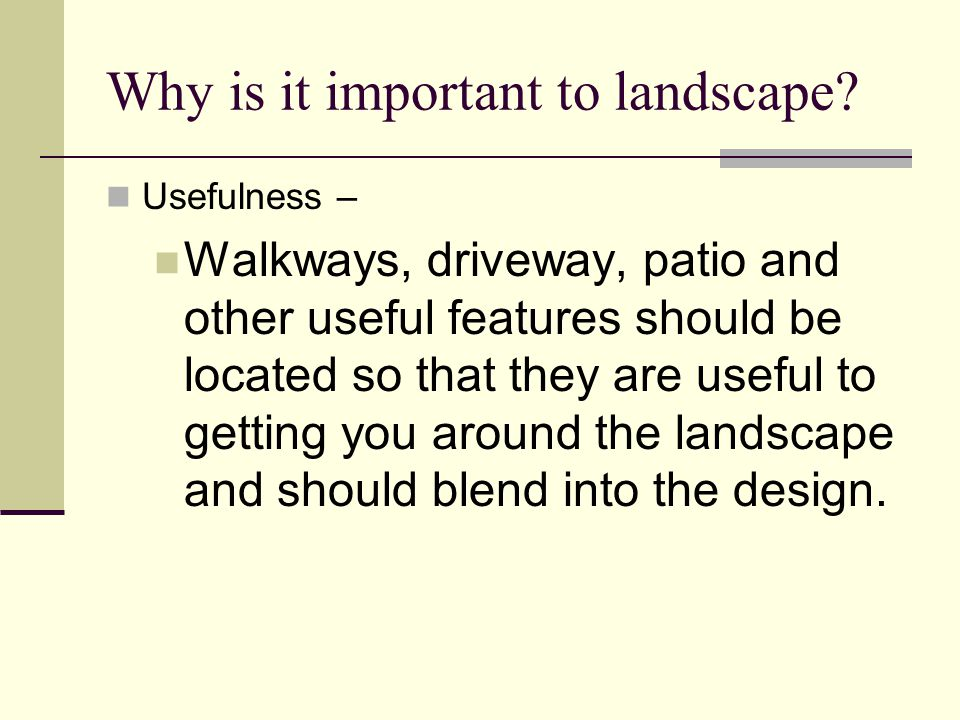 Walkways and Driveways