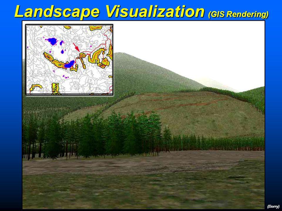 (Berry) Landscape Visualization (GIS Rendering)