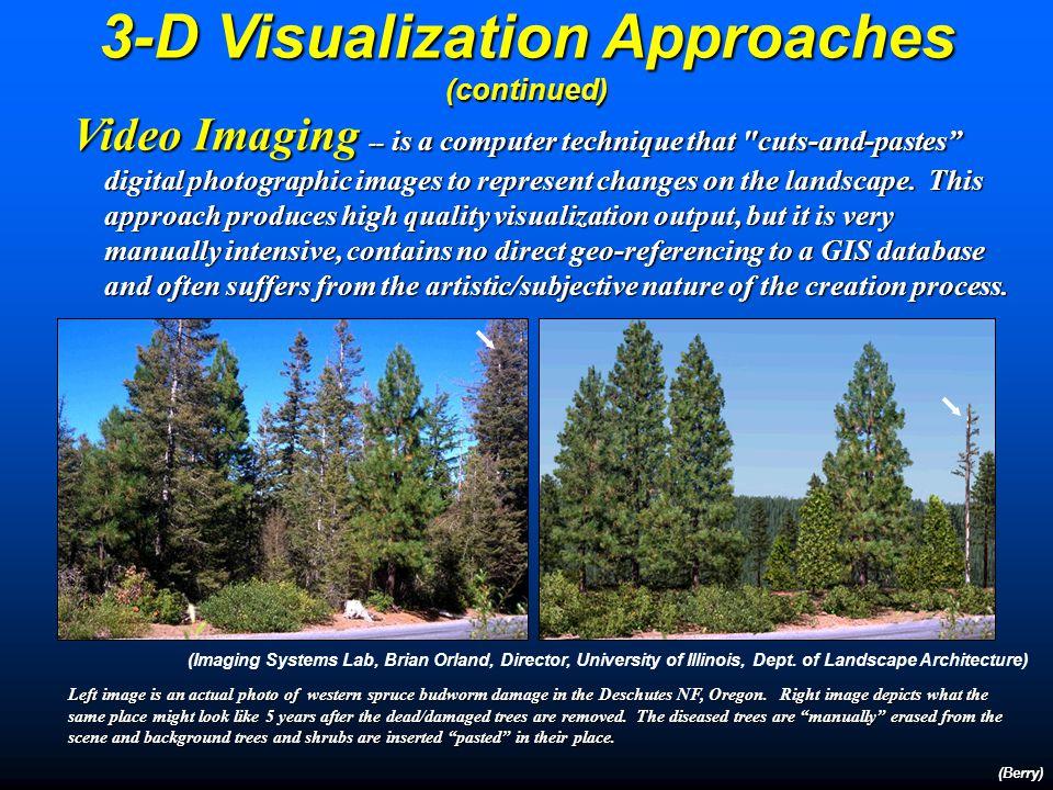 Going Beyond Landscape Visualization (Berry) Landscape Structure Analysis provides information on the patterns and arrangements of landscape features… puzzle pieces.