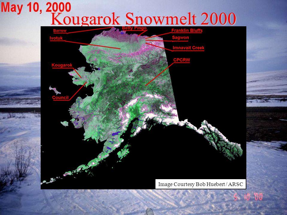 Kougarok Snowmelt 2000 Image Courtesy Bob Huebert / ARSC