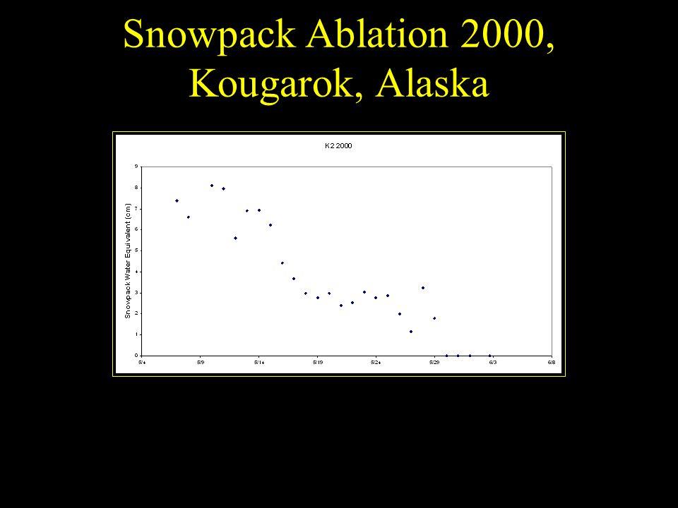 Snowpack Ablation 2000, Kougarok, Alaska