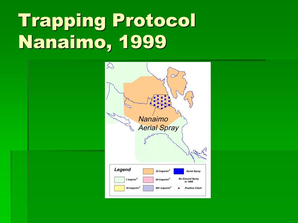 Trapping Protocol Nanaimo, 1999