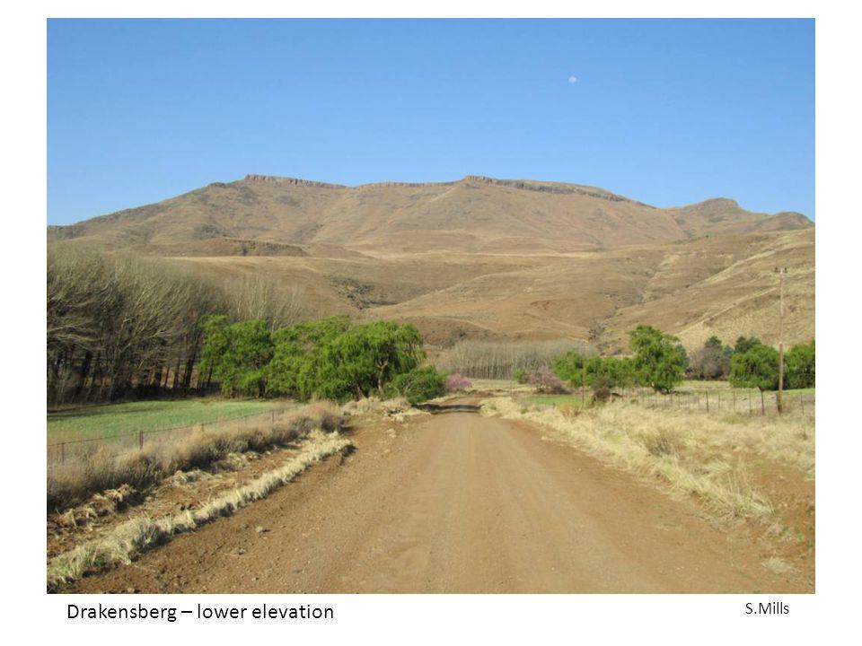 Drakensberg – lower elevation