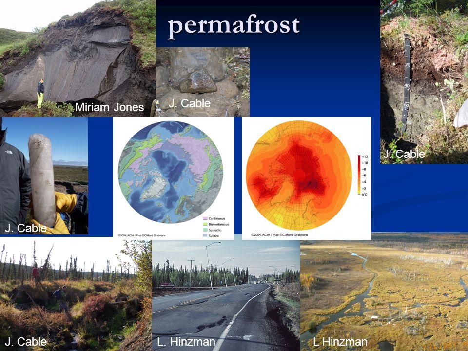 permafrost Miriam Jones J. Cable L. HinzmanL Hinzman