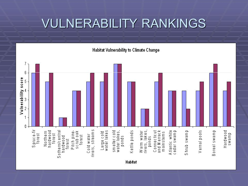 VULNERABILITY RANKINGS