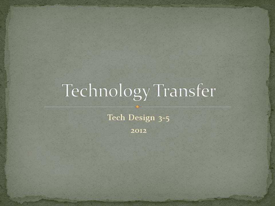 Tech Design 3-5 2012