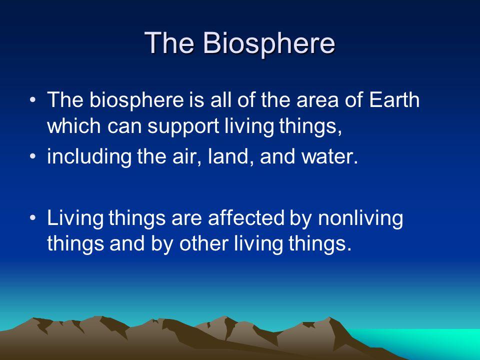 Abiotic Factors Air currents Temperature Moisture Light Soil Abiotic factors determine what organisms can live in an area.