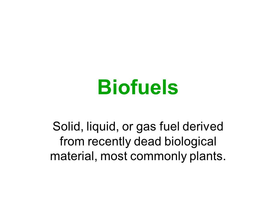 All This Ethanol Is Still Causing CO2 to Be Emitted Into Our Atmosphere.