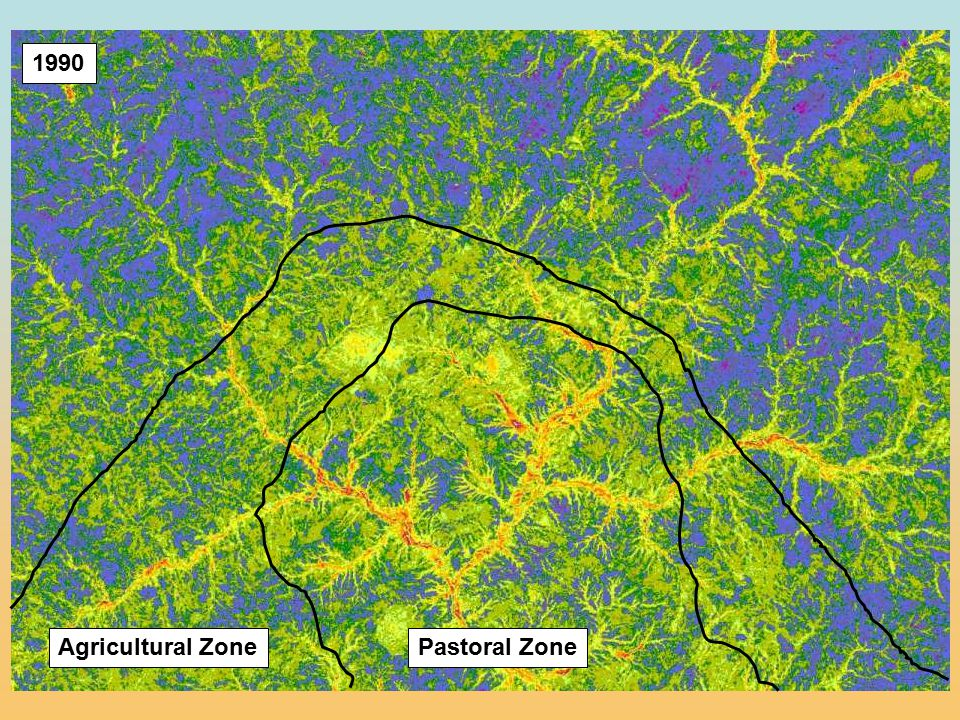 1990 Pastoral Zone Agricultural Zone
