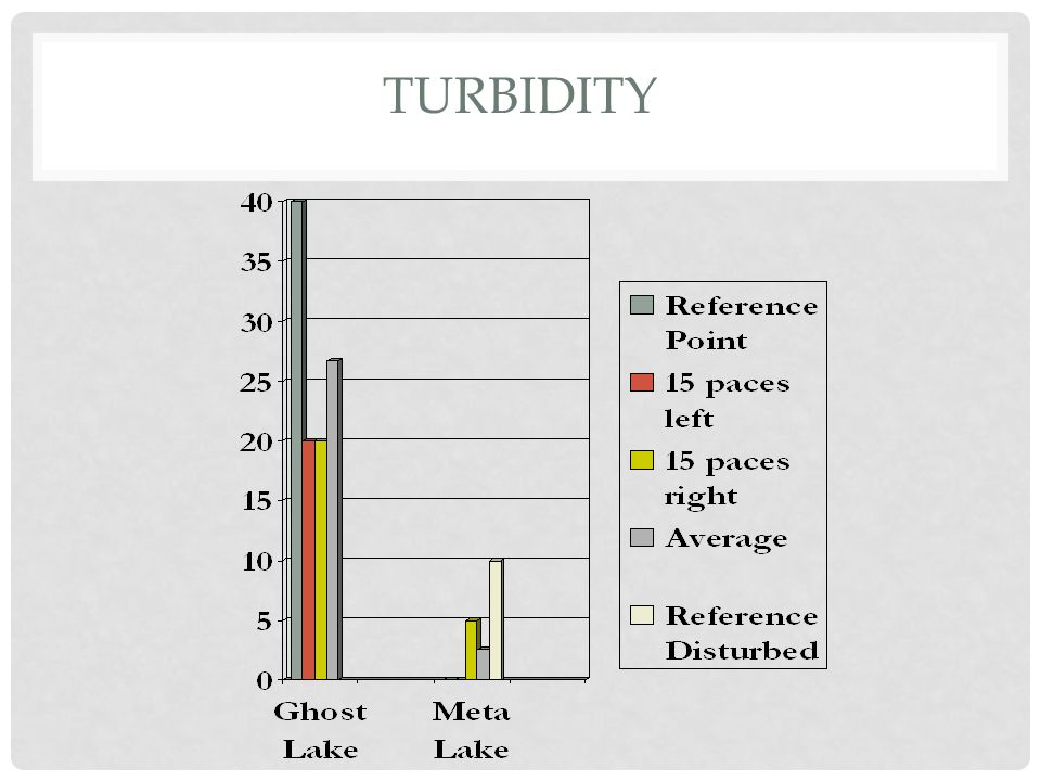 PLANT DIVERSITY: ANALYSIS As shown in graph 3 Ghost Lake had a total of 8 shrub species and 5 tree species.