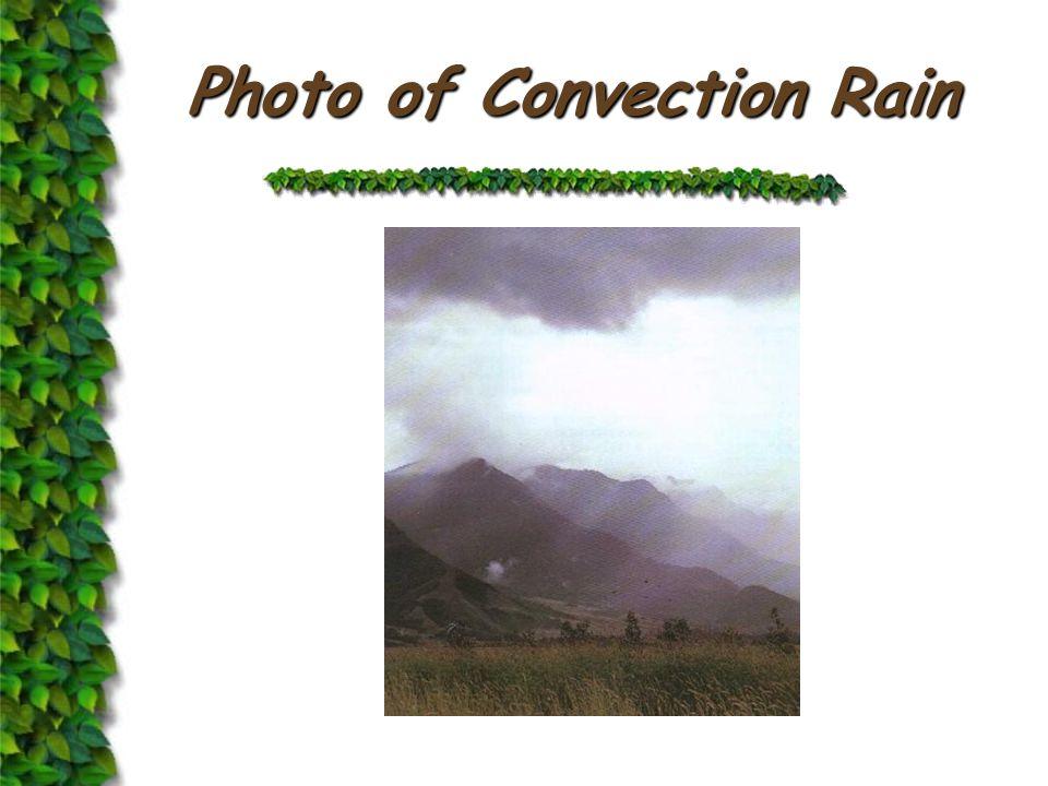 Formation of Convection Rain Solar Radiation Evaporation Cumulonimbus Cloud