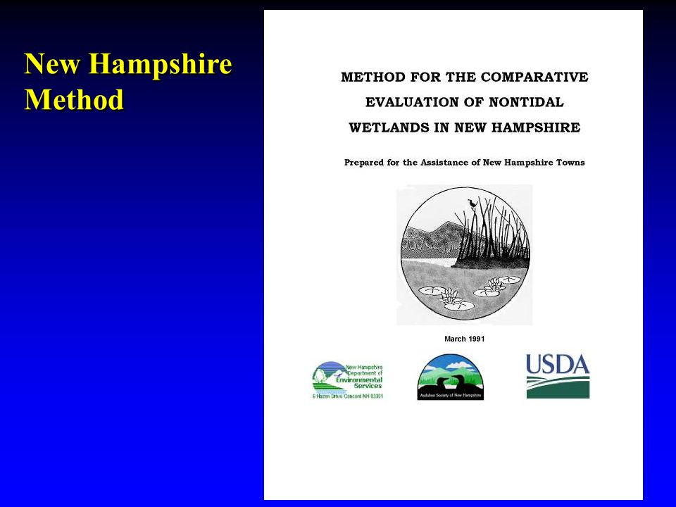 New Hampshire Method New Hampshire Method