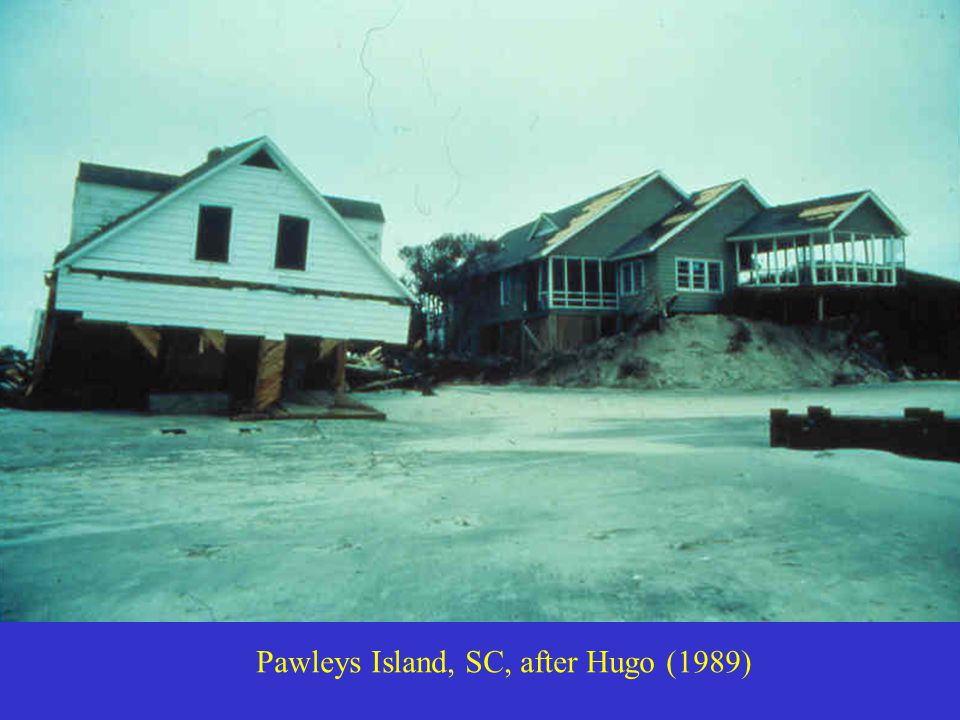Pawleys Island, SC, after Hugo (1989)