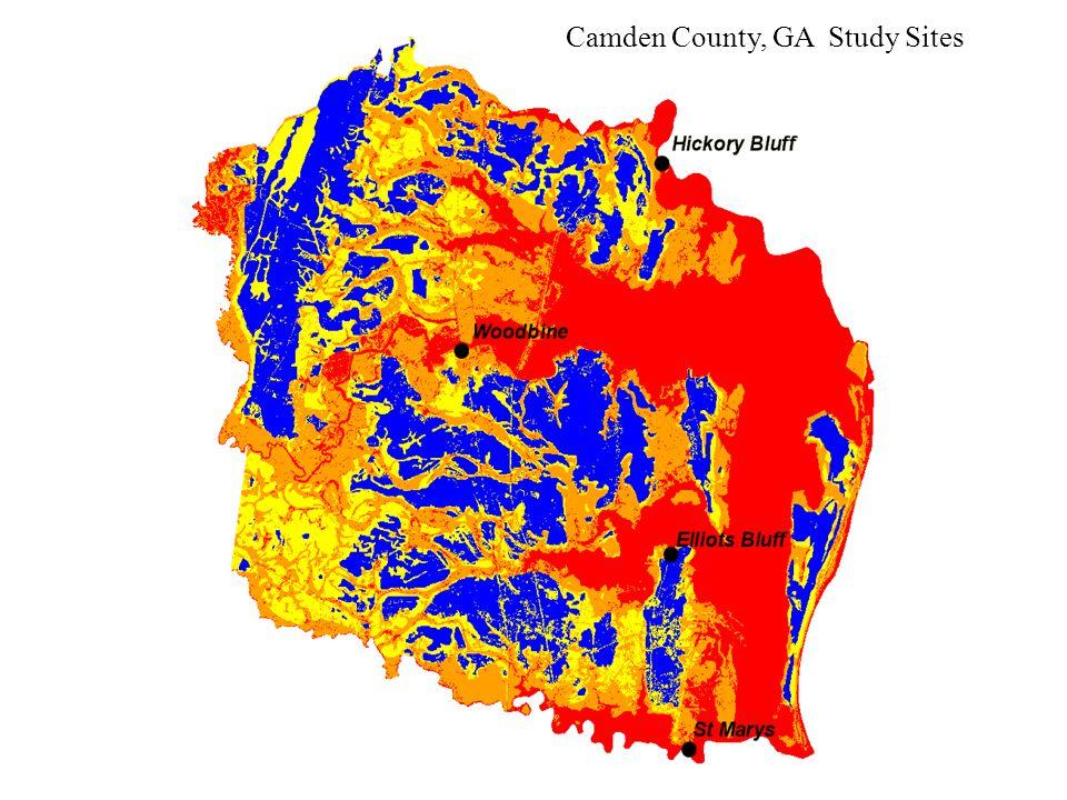 Camden County, GA Study Sites