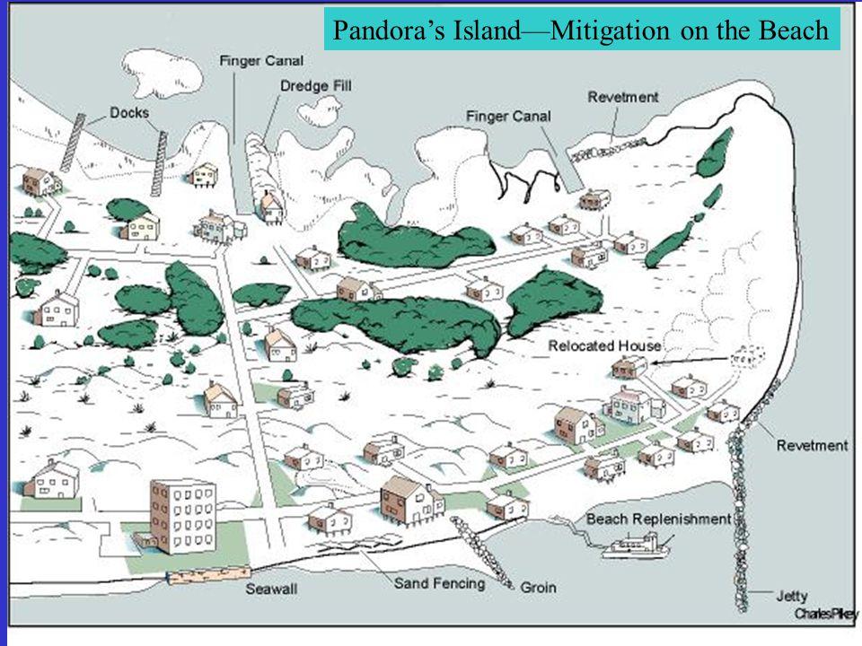 Pandora's Island—Mitigation on the Beach