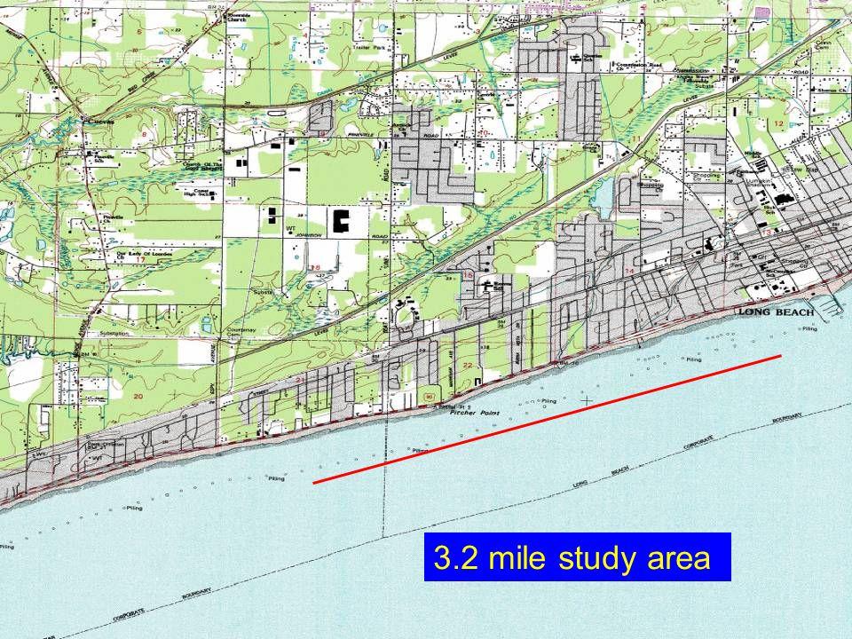 3.2 mile study area