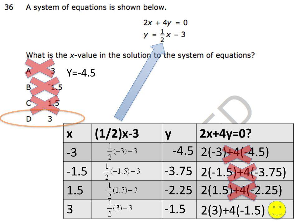 x(1/2)x-3y2x+4y=0.