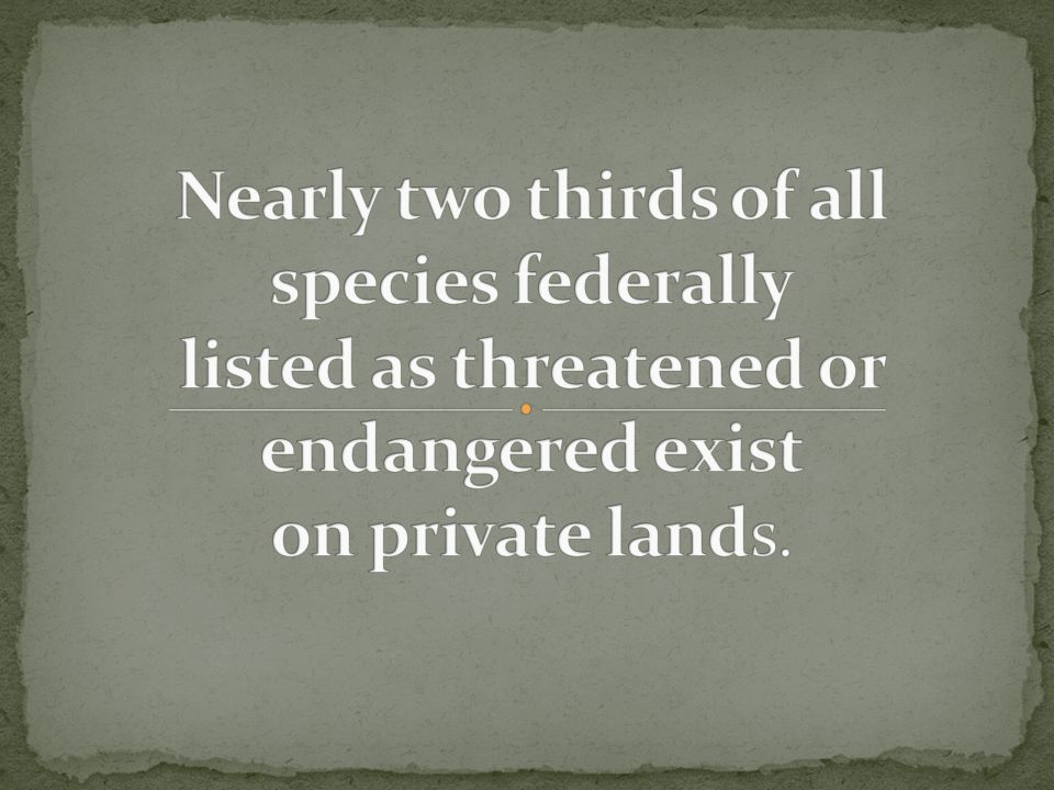 Through Working Lands for Wildlife —a voluntary, incentive-based effort—the Natural Resources Conservation Service (NRCS) and its conservation partners will provide landowners with technical and financial assistance to:
