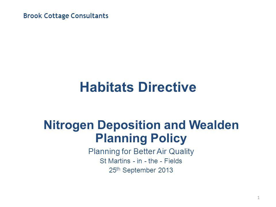 Habitats Directive The Conservation of Habitats and Species Regulations 2010 S61.—(1) A competent authority, before deciding to undertake, or give any consent, permission or other authorisation for, a plan or project which — –(a) is likely to have a significant effect on a European site or a European offshore marine site (either alone or in combination with other plans or projects), and –(b) is not directly connected with or necessary to the management of that site, must make an appropriate assessment of the implications for that site in view of that site's conservation objectives.
