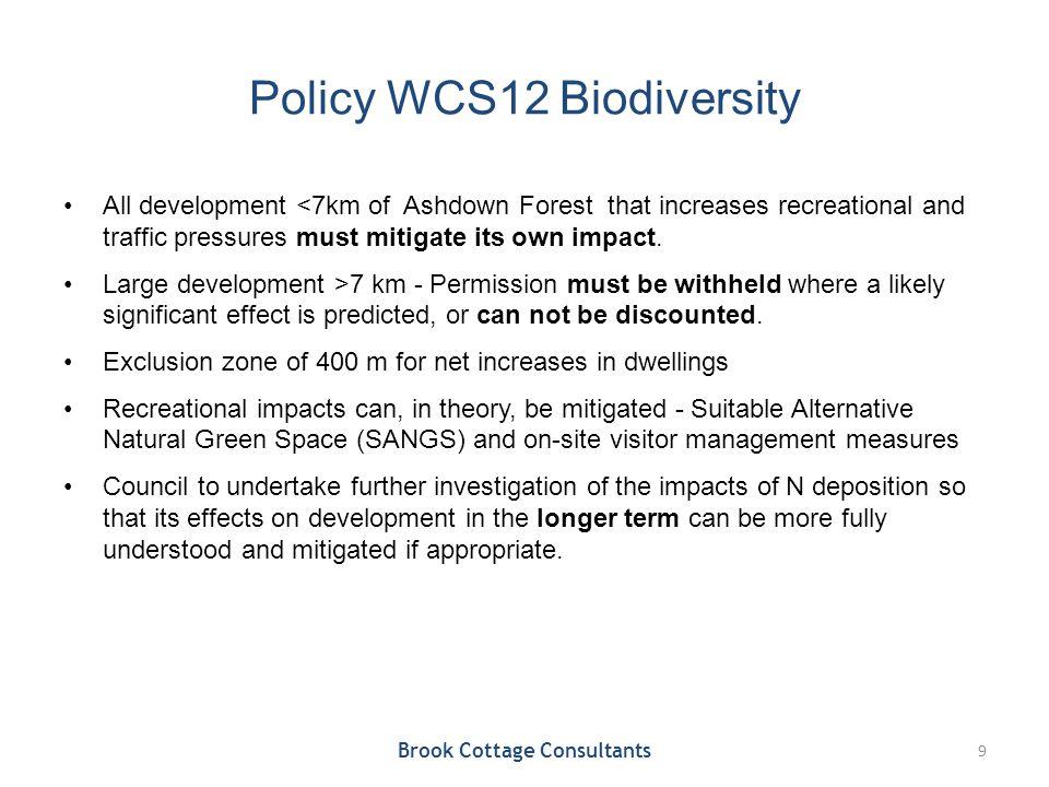 7 km Development Restriction Zone Brook Cottage Consultants 10