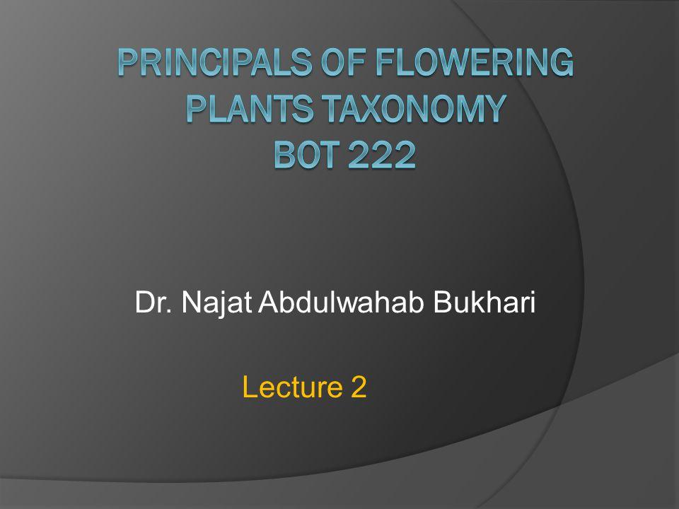Dr. Najat Abdulwahab Bukhari Lecture 2