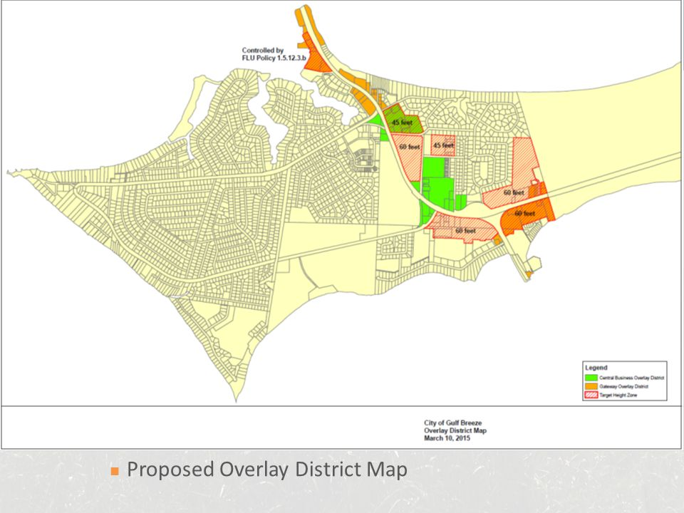 Proposed Overlay District Map