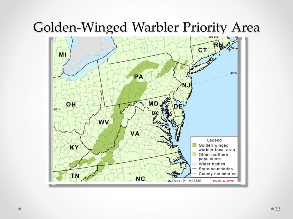 Golden-Winged Warbler Priority Area 33