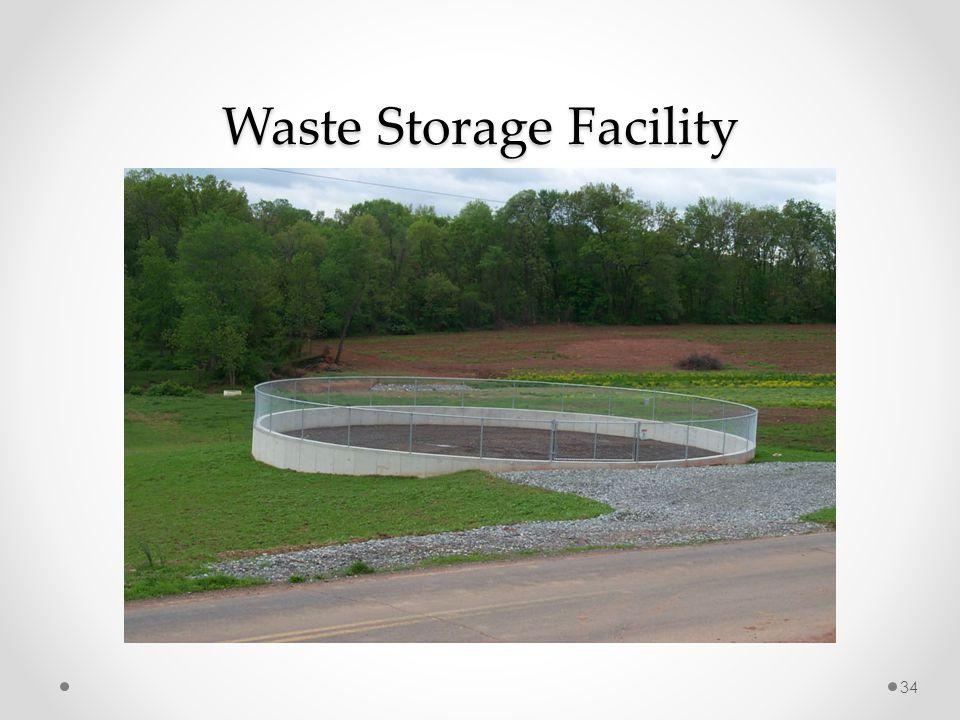 Waste Storage Facility 34