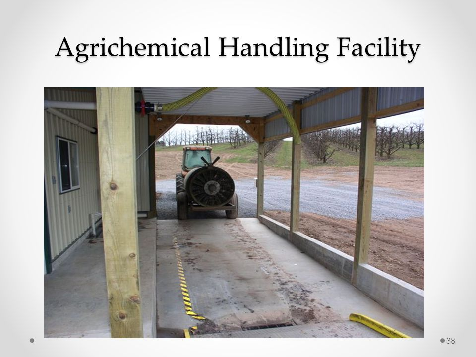 Agrichemical Handling Facility 38