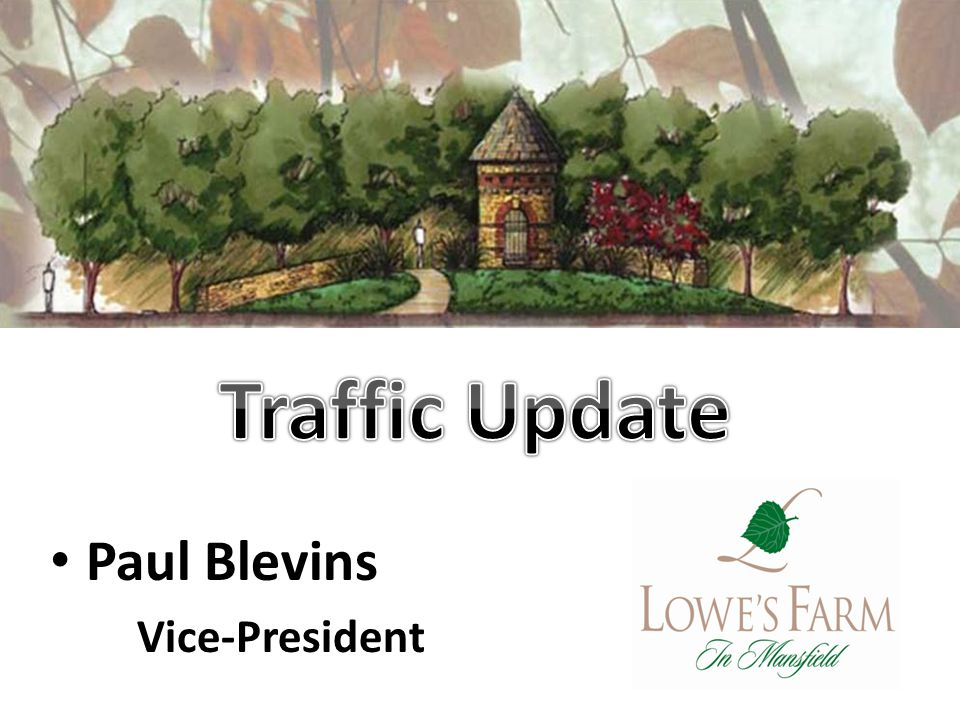 Paul Blevins Vice-President