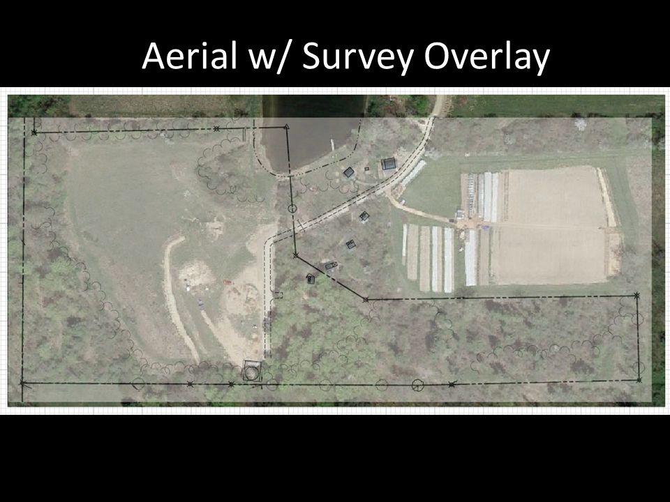 Aerial w/ Survey Overlay