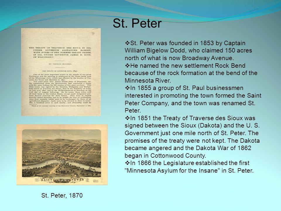 St. Peter St. Peter, 1870  St.