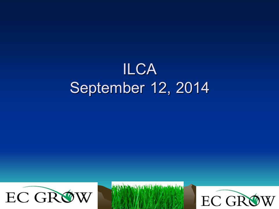 ILCA September 12, 2014 ILCA September 12, 2014