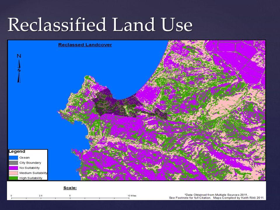 Reclassified Land Use