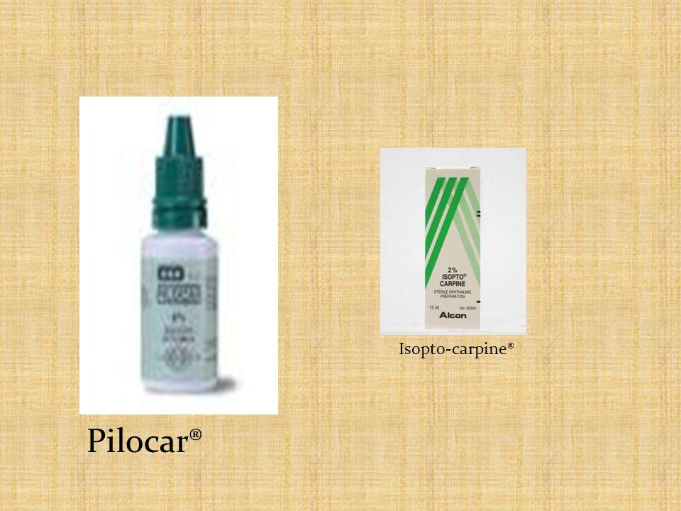Isopto-carpine® Pilocar®