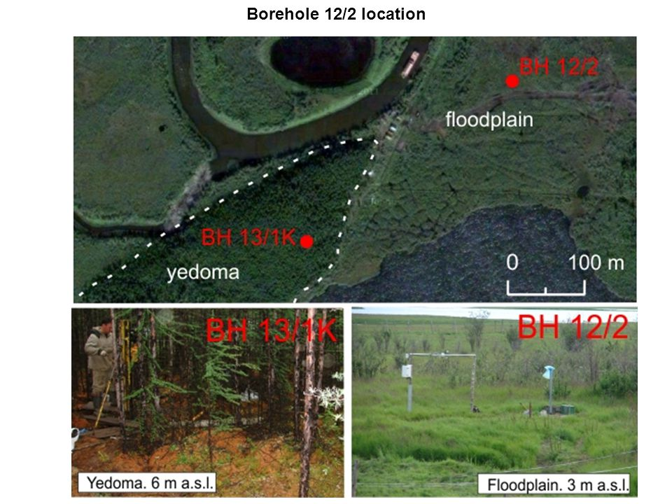 Borehole 12/2 location