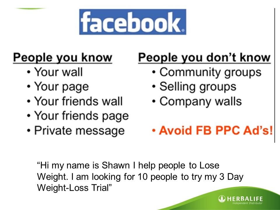 """""""Hi my name is Shawn I help people to Lose Weight. I am looking for 10 people to try my 3 Day Weight-Loss Trial"""""""