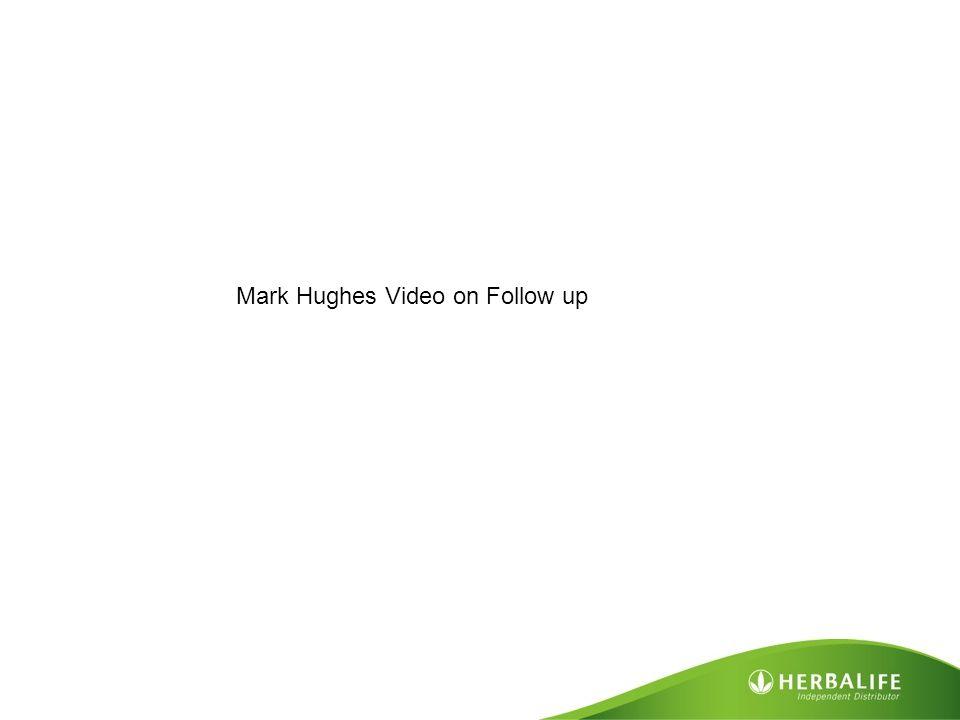 Mark Hughes Video on Follow up